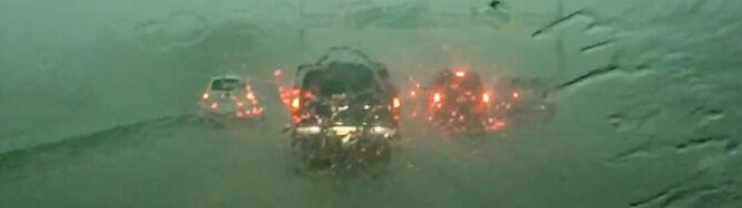Ulewy, trąby powietrzne, powódź. Gwałtowne burze nad Teksasem