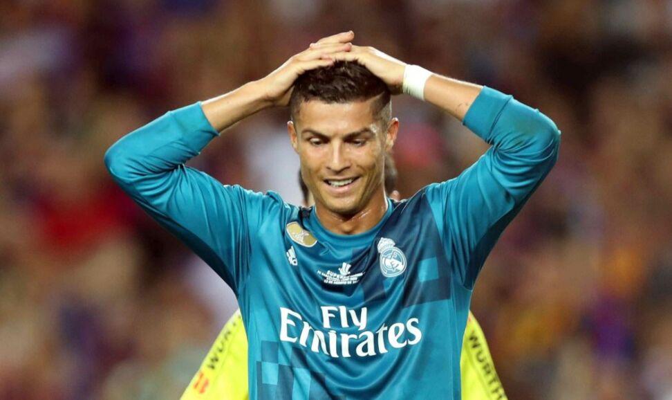 Kuriozalna czerwona kartka Ronaldo. Real lepszy od Barcelony