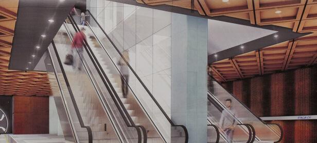 Tak ma wyglądać stacja Powstańców Śląskich materiały projektanta