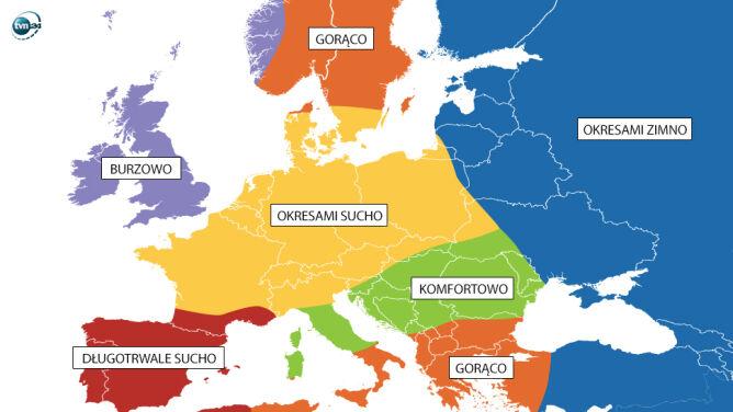 Takie warunki mają panować w Europie