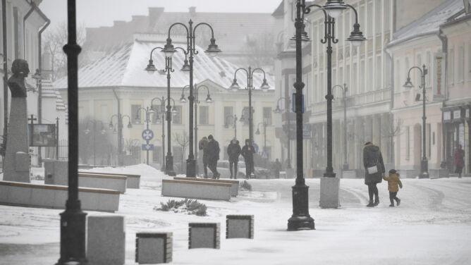 Prognoza pogody na dziś: <br />kolejny śnieżny dzień na południu