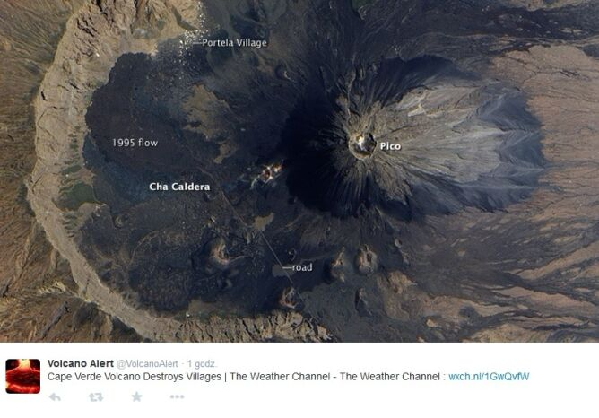 Pierwszy tegoroczny wybuch miał miejsce 23 listopada