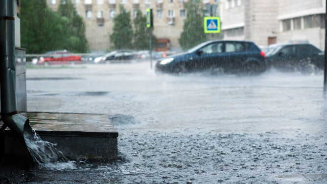 Poziom wody może gwałtownie rosnąć. Alarmy hydrologiczne