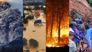 Ciemna strona natury, czyli kataklizmy w 2014 roku