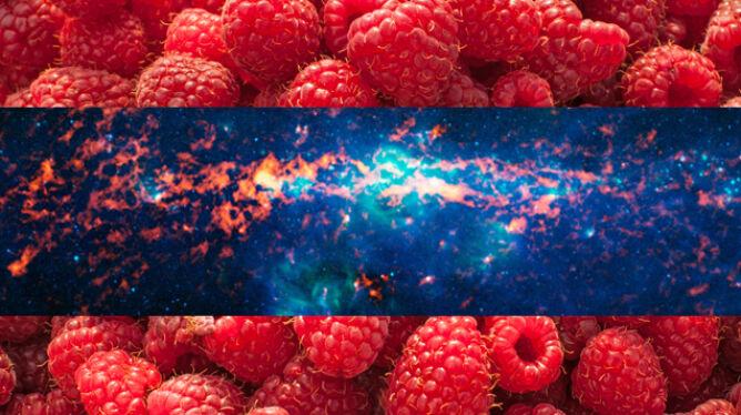 Apetyczne centrum Drogi Mlecznej. Pachnie malinami i rumem