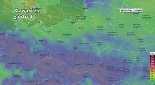 Potencjalne porywy wiatru w kolejnych dniach (Ventusky.com | wideo bez dźwięku)